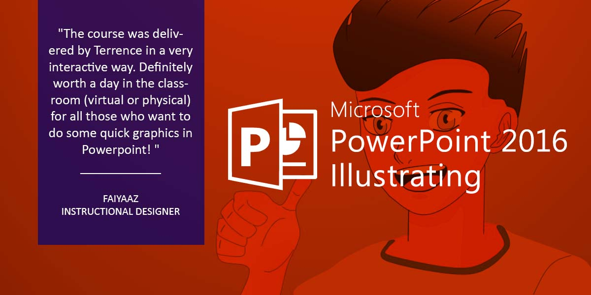 Microsoft PowerPoint 2016 Illustrating